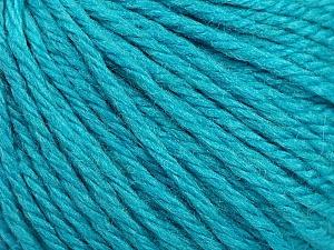 Fiber Content 40% Merino Wool, 40% Acrylic, 20% Polyamide, Turquoise, Brand ICE, Yarn Thickness 3 Light  DK, Light, Worsted, fnt2-45820