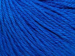 Fiber Content 40% Merino Wool, 40% Acrylic, 20% Polyamide, Brand ICE, Blue, Yarn Thickness 3 Light  DK, Light, Worsted, fnt2-45822