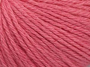 Fiber Content 40% Merino Wool, 40% Acrylic, 20% Polyamide, Pink, Brand ICE, Yarn Thickness 3 Light  DK, Light, Worsted, fnt2-45827