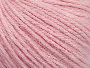Fiber Content 40% Merino Wool, 40% Acrylic, 20% Polyamide, Brand ICE, Baby Pink, Yarn Thickness 3 Light  DK, Light, Worsted, fnt2-45828