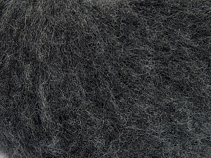 Fiber Content 78% Superwash Extrafine Merino Wool, 5% Elastan, 19% Nylon, Brand ICE, Dark Grey, Yarn Thickness 1 SuperFine  Sock, Fingering, Baby, fnt2-46345