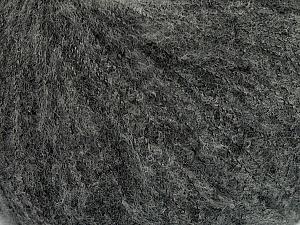 Fiber Content 78% Superwash Extrafine Merino Wool, 5% Elastan, 19% Nylon, Brand ICE, Grey, Yarn Thickness 1 SuperFine  Sock, Fingering, Baby, fnt2-46346
