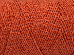 Items made with this yarn are machine washable & dryable. Fiber Content 100% Dralon Acrylic, Brand ICE, Copper, Yarn Thickness 4 Medium  Worsted, Afghan, Aran, fnt2-47180