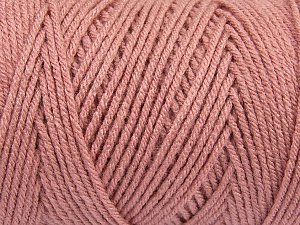 Items made with this yarn are machine washable & dryable. Fiber Content 100% Dralon Acrylic, Rose Pink, Brand ICE, Yarn Thickness 4 Medium  Worsted, Afghan, Aran, fnt2-47190