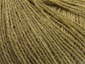 Fiber Content 70% Acrylic, 30% Wool, Khaki Melange, Brand ICE, Yarn Thickness 2 Fine  Sport, Baby, fnt2-47269