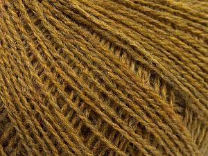 Fiber Content 70% Acrylic, 30% Wool, Brand ICE, Green Melange, Yarn Thickness 2 Fine  Sport, Baby, fnt2-47270