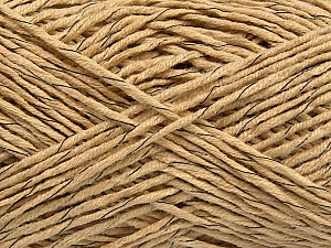 Fiber Content 60% Cotton, 40% Acrylic, Brand ICE, Camel, fnt2-47282