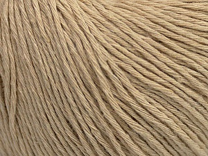 Fiber Content 100% Cotton, Brand ICE, Beige, Yarn Thickness 1 SuperFine  Sock, Fingering, Baby, fnt2-47514