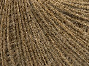 Fiber Content 70% Acrylic, 30% Wool, Light Brown Melange, Brand ICE, Yarn Thickness 2 Fine  Sport, Baby, fnt2-47760