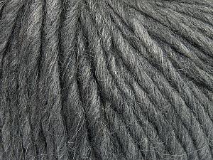 Fiber Content 50% Merino Wool, 25% Acrylic, 25% Alpaca, Brand Ice Yarns, Grey, Yarn Thickness 6 SuperBulky  Bulky, Roving, fnt2-48095