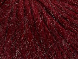 Fiber Content 50% Merino Wool, 25% Acrylic, 25% Alpaca, Brand Ice Yarns, Burgundy, Yarn Thickness 6 SuperBulky  Bulky, Roving, fnt2-48102