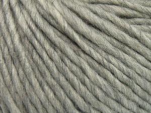 Fiber Content 50% Merino Wool, 25% Alpaca, 25% Acrylic, Light Grey, Brand Ice Yarns, Yarn Thickness 5 Bulky  Chunky, Craft, Rug, fnt2-48697