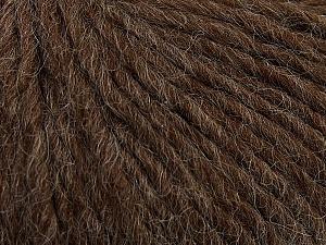 Fiber Content 50% Merino Wool, 25% Alpaca, 25% Acrylic, Brand Ice Yarns, Brown, Yarn Thickness 5 Bulky  Chunky, Craft, Rug, fnt2-48698