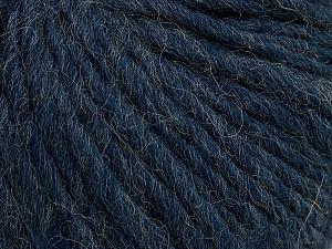 Fiber Content 50% Merino Wool, 25% Alpaca, 25% Acrylic, Navy, Brand Ice Yarns, Yarn Thickness 5 Bulky  Chunky, Craft, Rug, fnt2-48700