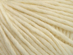 Fiber Content 50% Merino Wool, 25% Acrylic, 25% Alpaca, Brand Ice Yarns, Ecru, Yarn Thickness 5 Bulky  Chunky, Craft, Rug, fnt2-48702