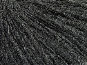 Fiber Content 60% Acrylic, 40% Wool, Brand ICE, Dark Grey, Yarn Thickness 3 Light  DK, Light, Worsted, fnt2-48746