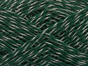 Fiber Content 50% Wool, 50% Viscose, Brand ICE, Grey, Green, Yarn Thickness 3 Light  DK, Light, Worsted, fnt2-48865
