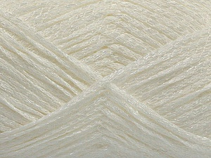 Fiber Content 60% Acrylic, 40% Polyamide, White, Brand ICE, fnt2-48964