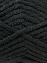 Fiber Content 50% Acrylic, 50% Merino Wool, Brand Kuka Yarns, Black, Yarn Thickness 5 Bulky  Chunky, Craft, Rug, fnt2-16720