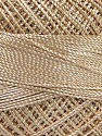 Fiber Content 100% Micro Fiber, Brand YarnArt, Beige, Yarn Thickness 0 Lace  Fingering Crochet Thread, fnt2-17305