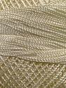 Fiber Content 100% Micro Fiber, Brand YarnArt, Cream, Yarn Thickness 0 Lace  Fingering Crochet Thread, fnt2-17308