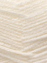 Fiber Content 100% Acrylic, White, Brand Ice Yarns, Yarn Thickness 3 Light  DK, Light, Worsted, fnt2-22404