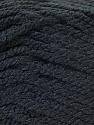 Fiber Content 100% Acrylic, Brand ICE, Black, Yarn Thickness 3 Light  DK, Light, Worsted, fnt2-22410