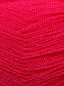 Very thin yarn. It is spinned as two threads. So you will knit as two threads. Yardage information is for only one strand. Fiber Content 100% Acrylic, Brand ICE, Fuchsia, Yarn Thickness 1 SuperFine  Sock, Fingering, Baby, fnt2-22450