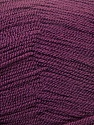 Very thin yarn. It is spinned as two threads. So you will knit as two threads. Yardage information is for only one strand. Fiber Content 100% Acrylic, Maroon, Brand ICE, Yarn Thickness 1 SuperFine  Sock, Fingering, Baby, fnt2-22460