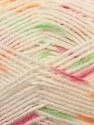 Fiber Content 100% Baby Acrylic, White, Orange, Brand Ice Yarns, Green, Fuchsia, Yarn Thickness 2 Fine  Sport, Baby, fnt2-23501