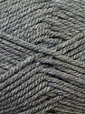 Bulky  Fiber Content 100% Acrylic, Brand Ice Yarns, Grey, Yarn Thickness 5 Bulky  Chunky, Craft, Rug, fnt2-23747