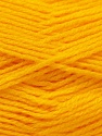 Fiber Content 100% Baby Acrylic, Yellow, Brand Ice Yarns, Yarn Thickness 2 Fine  Sport, Baby, fnt2-23773