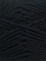Bulky  Fiber Content 100% Acrylic, Brand Ice Yarns, Black, Yarn Thickness 5 Bulky  Chunky, Craft, Rug, fnt2-24499