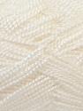 Fiber Content 100% Acrylic, White, Brand Ice Yarns, Yarn Thickness 1 SuperFine  Sock, Fingering, Baby, fnt2-24586