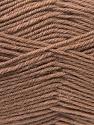 Fiber Content 100% Virgin Wool, Brand ICE, Camel, Yarn Thickness 3 Light  DK, Light, Worsted, fnt2-24761