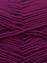 Fiber Content 100% Virgin Wool, Purple, Brand ICE, Yarn Thickness 3 Light  DK, Light, Worsted, fnt2-24846