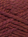 SuperBulky  Fiber Content 55% Acrylic, 45% Wool, Maroon, Brand Ice Yarns, Yarn Thickness 6 SuperBulky  Bulky, Roving, fnt2-24944