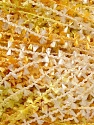 Fiber Content 100% Polyester, Yellow, Brand ICE, Green, Cream, Yarn Thickness 4 Medium  Worsted, Afghan, Aran, fnt2-25231