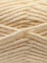 Fiber Content 60% Acrylic, 20% Alpaca, 20% Wool, Brand ICE, Cream, Yarn Thickness 5 Bulky  Chunky, Craft, Rug, fnt2-25353