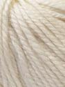 Fiber Content 40% Acrylic, 35% Wool, 25% Alpaca, White, Brand Ice Yarns, Yarn Thickness 5 Bulky  Chunky, Craft, Rug, fnt2-25393