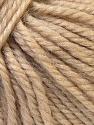 Fiber Content 40% Acrylic, 35% Wool, 25% Alpaca, Brand Ice Yarns, Beige, Yarn Thickness 5 Bulky  Chunky, Craft, Rug, fnt2-25395