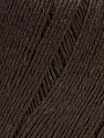Fiber Content 50% Viscose, 50% Linen, Brand Ice Yarns, Brown, Yarn Thickness 2 Fine  Sport, Baby, fnt2-27253