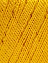 Fiber Content 50% Viscose, 50% Linen, Yellow, Brand Ice Yarns, Yarn Thickness 2 Fine  Sport, Baby, fnt2-27257
