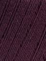 Fiber Content 50% Linen, 50% Viscose, Maroon, Brand Ice Yarns, Yarn Thickness 2 Fine  Sport, Baby, fnt2-27265