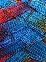 Fiber Content 90% Micro Fiber, 10% Metallic Lurex, Rainbow, Brand ICE, Yarn Thickness 6 SuperBulky  Bulky, Roving, fnt2-30935