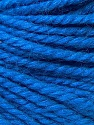 Fiber Content 40% Acrylic, 35% Wool, 25% Alpaca, Brand ICE, Blue, Yarn Thickness 5 Bulky  Chunky, Craft, Rug, fnt2-31126