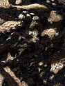 Fiber Content 85% Acrylic, 15% Polyester, Brand ICE, Cream, Brown, Black, Yarn Thickness 5 Bulky  Chunky, Craft, Rug, fnt2-31290