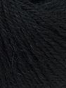 Fiber Content 100% Alpaca, Brand ICE, Black, Yarn Thickness 2 Fine  Sport, Baby, fnt2-31868