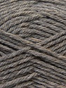 Fiber Content 70% Acrylic, 20% Wool, 10% Linen, Brand Ice Yarns, Grey, Yarn Thickness 4 Medium  Worsted, Afghan, Aran, fnt2-32437