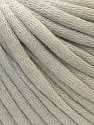 This is a tube-like yarn with soft cotton fleece filled inside. Fiber Content 70% Cotton, 30% Polyester, Light Beige, Brand Ice Yarns, Yarn Thickness 5 Bulky  Chunky, Craft, Rug, fnt2-32620